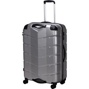 シフレ グリップ付きスーツケース ファスナータイプ 83L(ヘアラインシルバー) GripMaster(グリップマスター) TRI2066-67 HLSV 返品種別B joshin
