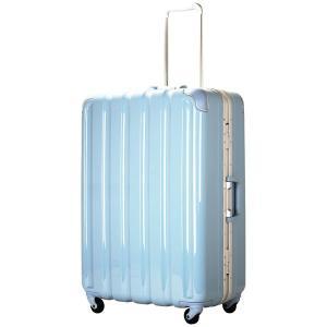 シフレ スーツケース ハードフレーム 93L(アイスブルー) GREEN WORKS(グリーンワークス) GRE1043-66 IBL 返品種別B|joshin