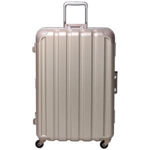 シフレ スーツケース ハードフレーム 93L(シボゴールド) GREEN WORKS(グリーンワークス) GRE1043-66 GD 返品種別B|joshin