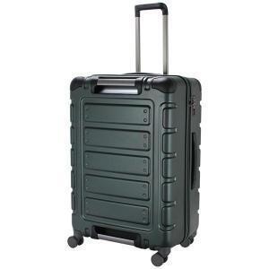 シフレ スーツケース ファスナータイプ 90L(マットグリーン) TRIDENT(トライデント) TRI2112-66 MGR 返品種別B joshin