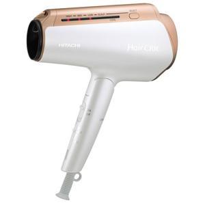 日立 ヘアードライヤー(パールホワイト) HITACHI HairCRiE Plus+(ヘアクリエ プラス+) ナノイオン HD-NS910-W 返品種別A|joshin
