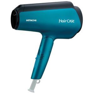 日立 ヘアードライヤー(マットブルー) HITACHI HairCRiE Plus+(ヘアクリエ プラス+) ナノイオン HD-NS810-A 返品種別A|joshin