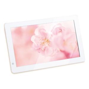 恵安 10インチワイド デジタルフォトフレーム(ホワイト) KD10FR-W 返品種別A|joshin