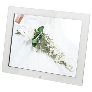 恵安 15インチ デジタルフォトフレーム (ホワイト) KD15ER-W 返品種別A|joshin