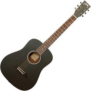 S.Yairi(ヤイリ) ミニアコースティックギター(ブラック) Compact-Acoustic シリーズ YM-02/ BLK 返品種別A|joshin