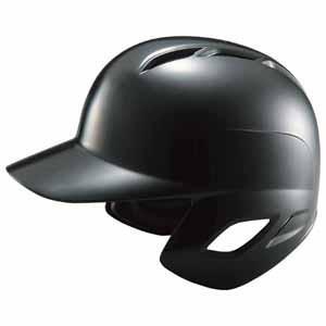 ゼット 軟式打者用ヘルメット(ブラック L) ZETT 野球ヘルメット Z-BHL370-1900-L 返品種別A joshin