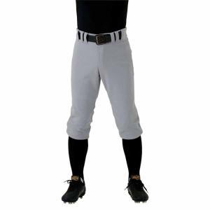 ゼット 野球・ソフトボール用 メンズ試合用ユニフォームパンツ(Yシルバー 2XO) ZETT ショートパンツ Z-BU1834CP-1300Y-2XO 返品種別A joshin