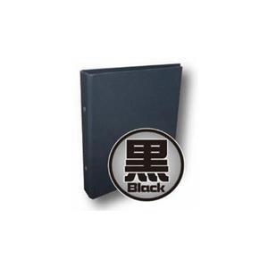 ホビーベース (再生産)CAC NEWカラーバインダー 黒サプライ 返品種別B|joshin