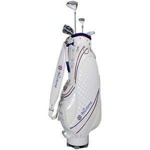 ニコテラ レディース ゴルフ ハーフ クラブセット 7本セット L キャディバッグ付 NICOTERA NTCS-5753 返品種別A|joshin