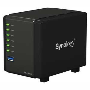 Synology 4ベイオールインワンNASキット DiskStation DS416slim DS416SLIM 返品種別A joshin