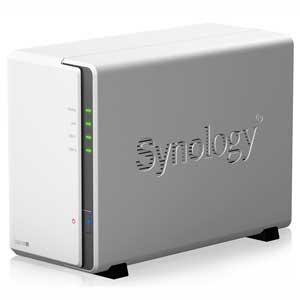 Synology 2ベイオールインワンNASキット DiskStation DS218j DS218...