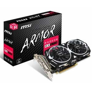 MSI PCI Express 3.0×16対応 グラフィックスボードMSI Radeon RX 570 ARMOR 8G Radeon RX 570 ARMOR 8G 返品種別B