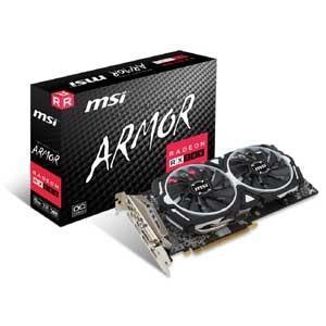 MSI PCI Express 3.0 x16対応 グラフィックスボードRadeon RX 580 ARMOR 8G OC Radeon RX 580 ARMOR 8G OC 返品種別B|joshin