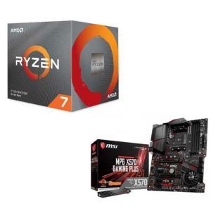 AMD AMD Ryzen7 3800X + MSI MPG X570 GAMING PLUS(お買...
