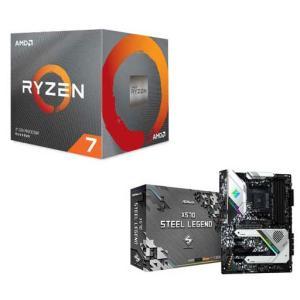 AMD AMD Ryzen7 3800X + ASRock X570 STEEL LEGEND(お買...