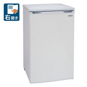 (標準設置 送料無料) アビテラックス 100L 冷凍庫(フリーザー)直冷式 ホワイトストライプ Abitelax ACF-110E 返品種別A|joshin
