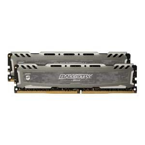 Crucial PC4-25600 (DDR4-3200)288pin UDIMM 16GB(8GB×2枚) Ballistix BLS2K8G4D32AESBK 返品種別B