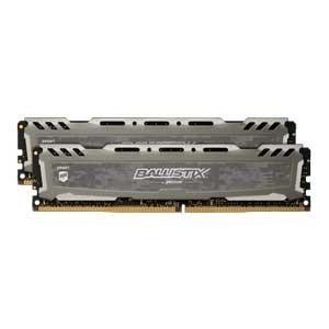 Crucial PC4-25600 (DDR4-3200)288pin UDIMM 32GB(16GB×2枚) Ballistix BLS2K16G4D32AESB 返品種別B