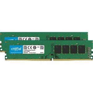 Crucial PC4-25600 (DDR4-3200)288pin UDIMM 16GB(8GB×2枚) CT2K8G4DFS832A 返品種別B