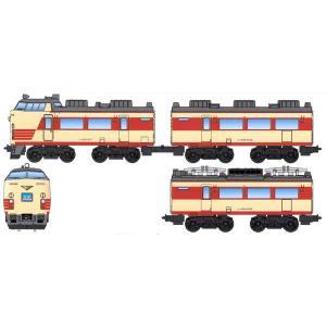 バンダイ Bトレインショーティー 485系 国鉄特急色(クハ481+モハ484+モハ485) 返品種別B|joshin