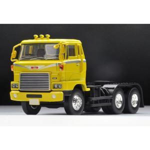 トミーテック 1/ 64 LV-N166a 日野HH341トラクタヘッド(黄色)(285786)ミニカー 返品種別B