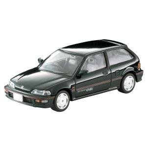トミーテック 1/ 64 LV-N182a Honda シビック SiR-II(緑)(290056)ミニカー 返品種別B|joshin