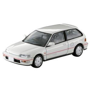 トミーテック 1/ 64 LV-N182b Honda シビック SiR-II(白)(290063)ミニカー 返品種別B|joshin