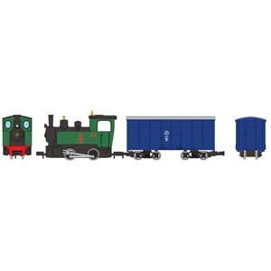 トミーテック (HOナロー) 鉄道コレクション ナローゲージ80 猫屋線 蒸気機関車+貨車トータルセット 返品種別B|joshin