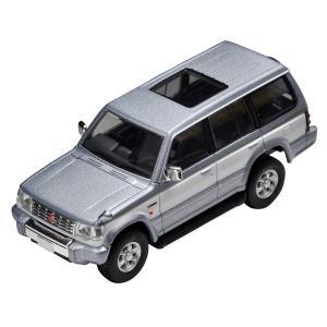 トミーテック 1/ 64 LV-N189a パジェロ スーパーエクシードZ(銀/ 白)(302124)ミニカー 返品種別B|joshin