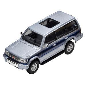 トミーテック 1/ 64 LV-N189b パジェロ スーパーエクシードZ(銀/ 青)(302131)ミニカー 返品種別B|joshin