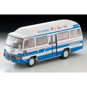 トミーテック 1/ 64 LV-184a トヨタ コースター クーラー車 (レストラン ボンジュール)(302230)ミニカー 返品種別B