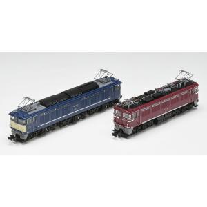 トミックス (N) 97913 国鉄 EF64形電気機関車(77号機・お召塗装)・ED75形電気機関車(121号機・お召塗装)2両セット(限定品) 返品種別B|joshin