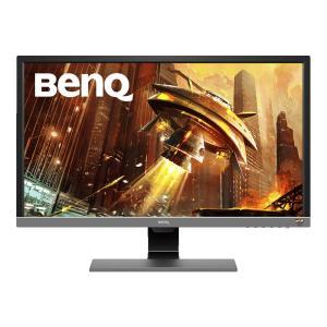 BenQ 27.9型ワイド ゲーミングモニター 4K HDR (TNパネル/ 1ms/ FreeSync対応/ HDMI/ DP/ スピーカー/ 最新アイケア機能B.I.+) EL2870U 返品種別A|joshin