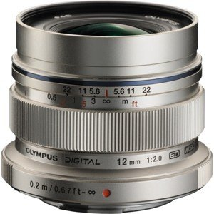 オリンパス M.ZUIKO DIGITAL ED 12mm F2.0 ※マイクロフォーサーズ用レンズ...