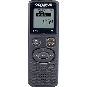 オリンパス 4GBメモリ内蔵ICレコーダー(ブラック) OLYMPUS Voice-Trek VN-541PC 返品種別A|joshin