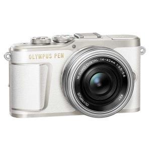 オリンパス ミラーレス一眼カメラ「OLYMPUS PEN E-PL9」14-42mm EZレンズキット(ホワイト) E-PL9 レンズキツト(ホワイト) 返品種別A|joshin