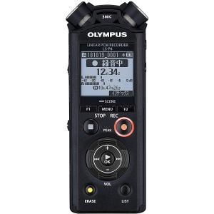 オリンパス ハイレゾ対応リニアPCMレコーダー8GBメモリ内蔵 OLMPUS LS-P4-BLK 返品種別A|joshin