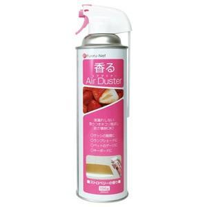 ナカバヤシ 香るエアダスター 300ml ストロベリー FNC-JB03TST 返品種別A|joshin