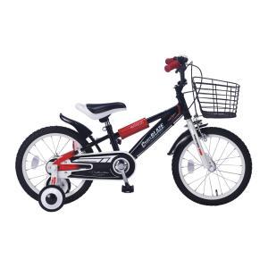 マイパラス 子ども用自転車 16インチ(ブラック) MYPALLAS MD-10 返品種別B|joshin