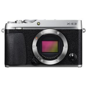 富士フイルム デジタル一眼カメラ「X-E3」ボディ(シルバー) F X-E3S 返品種別A|joshin