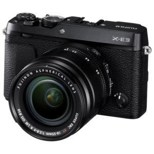 富士フイルム デジタル一眼カメラ「X-E3」ズームレンズキット(ブラック) F X-E3LKB 返品種別A joshin