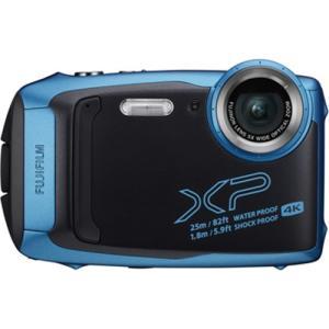 富士フイルム デジタルカメラ「FinePix XP140」(スカイブルー) FFX-XP140SB ...