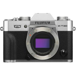 富士フイルム ミラーレス一眼カメラ「FUJIFILM X-T30」(シルバー) FX-T30-S 返...