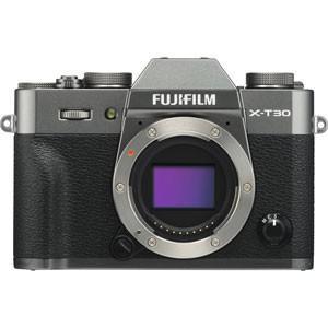 富士フイルム ミラーレス一眼カメラ「FUJIFILM X-T30」(チャコールシルバー) FX-T3...