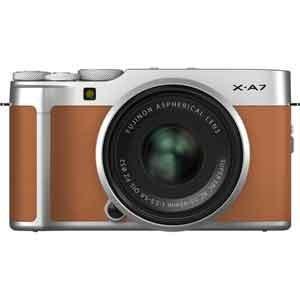 富士フイルム ミラーレス一眼カメラ「FUJIFILM X-A7」レンズキット(キャメル) FX-A7...