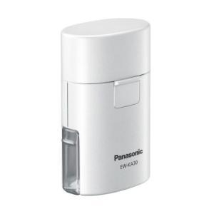 パナソニック ポケット吸入器(ホワイト) Panasonic EW-KA30-W 返品種別A|joshin