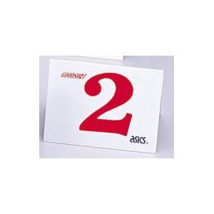 アシックス グラウンドゴルフ スタート表示板(単品)(ナンバー:2) asics グラウンドゴルフ備品 GGG99S-2 返品種別A|joshin