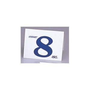 アシックス グラウンドゴルフ スタート表示板(単品)(ナンバー:8) asics グラウンドゴルフ備品 GGG99S-8 返品種別A|joshin