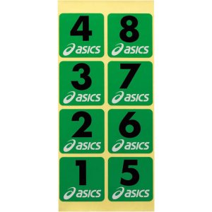 アシックス グラウンドゴルフ ホールナンバーシール(ナンバー:01〜08) asics グラウンドゴルフ備品 GGG54S-F-0108 返品種別A|joshin