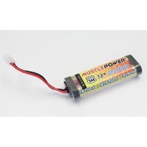 京商 マッスルパワー 2200 7.2V Ni-MH バッテリー(R246-8451B)ラジコン用バッテリー 返品種別B|joshin